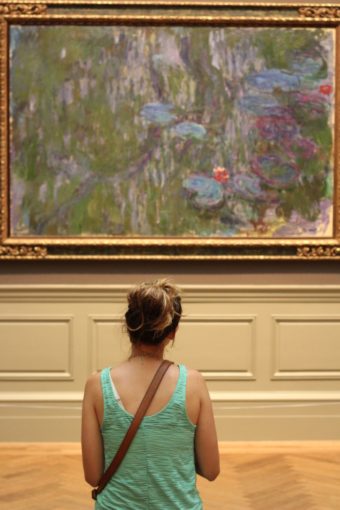 lillies by monet