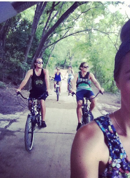hannahs bike ride pic