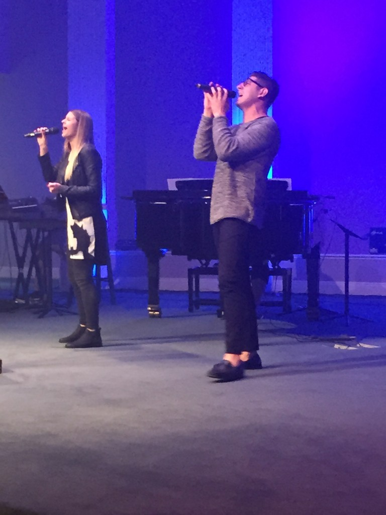 Hannah Leads Worship At Rochester Assembly